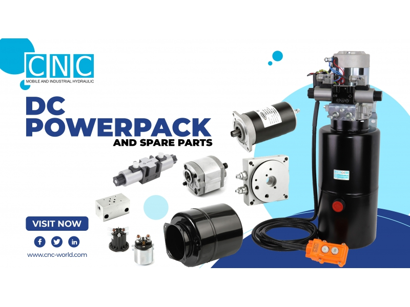 DC POWERPACKS AND SPARE PARTS