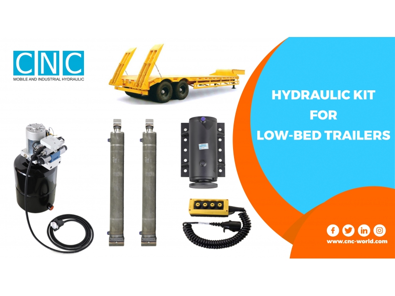HYDRAULIC KIT FOR LOW-BED TRAILER