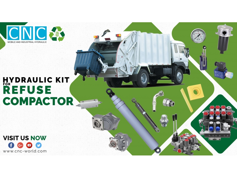 REFUSE COMPACTOR HYDRAULIC KIT