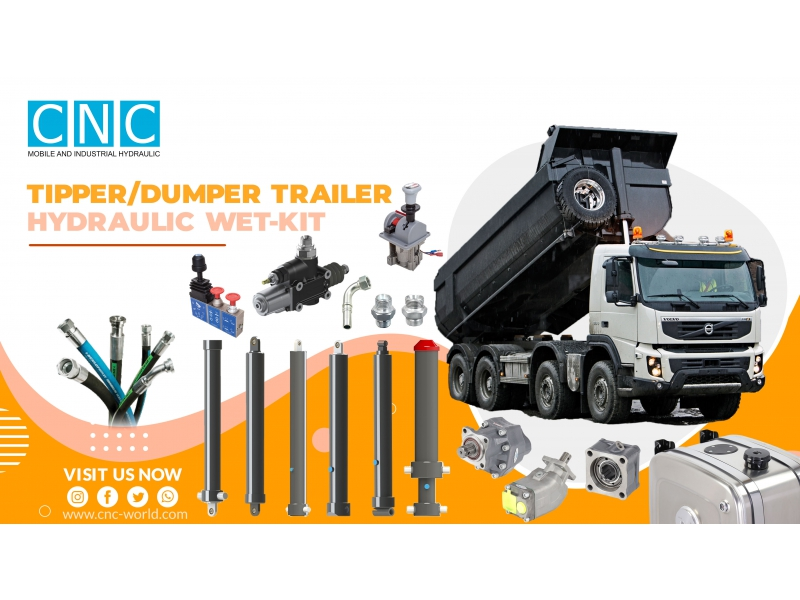 TIPPER TRAILER HYDRAULIC WET-KIT