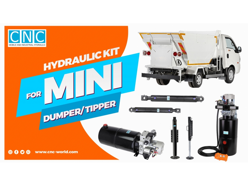 HYDRAULIC KIT FOR MINI DUMPER